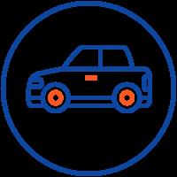 Сдача экзаменов на автомобилях автошколы